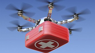 Emergency medical drones will be put into operation